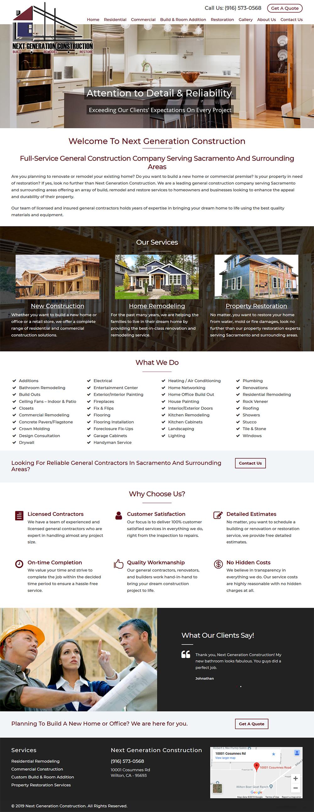 Web Design Portfolio San Francisco Bay Area Website Developer