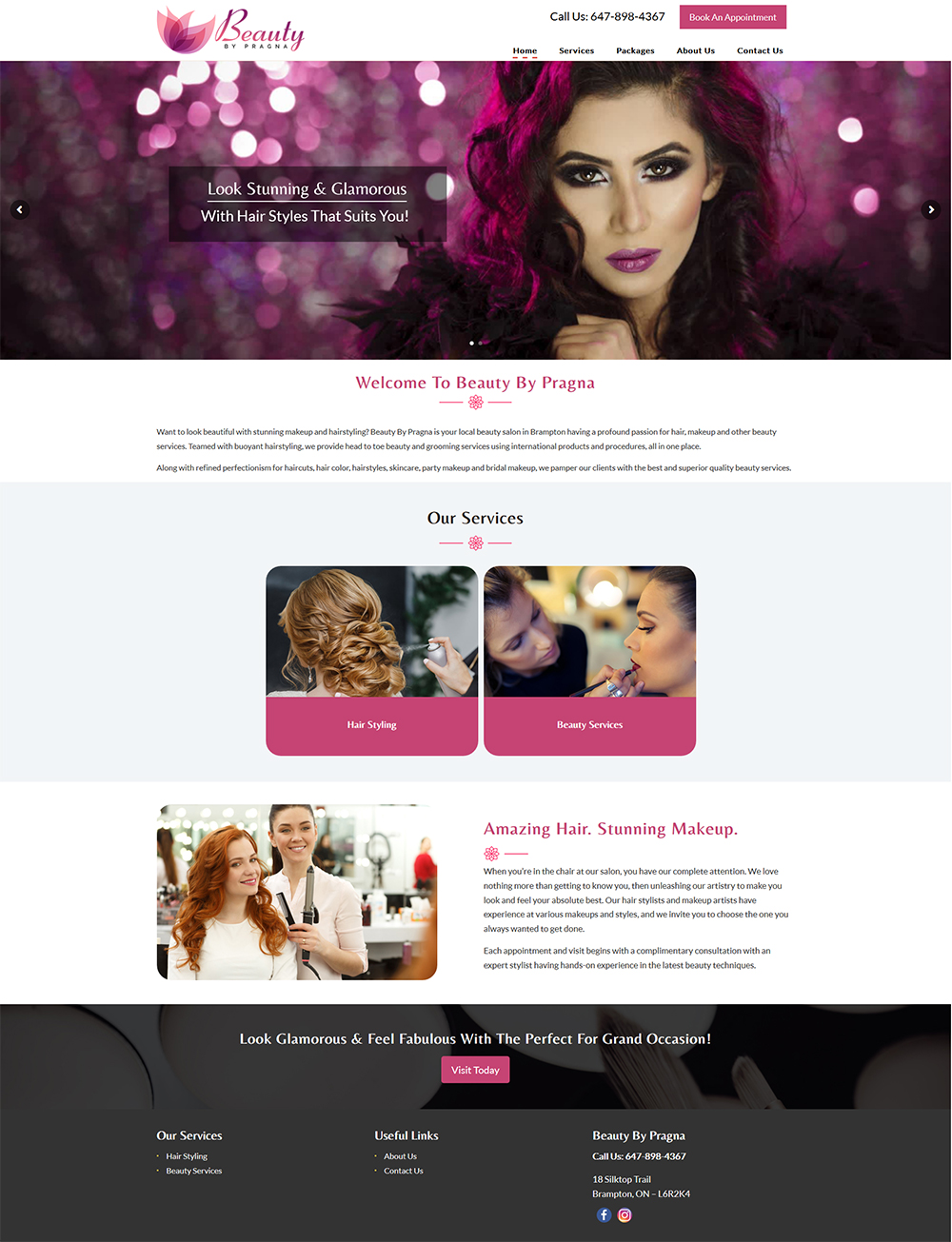 Web Design Portfolio San Francisco Bay Area Website Developer
